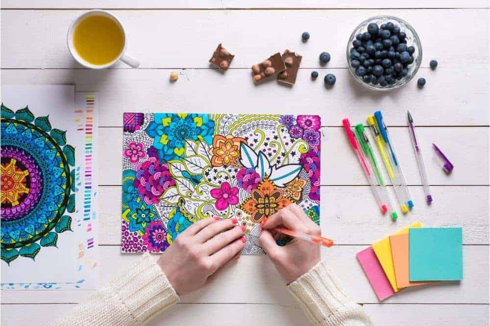 Best Coloring books for Adult Relaxation