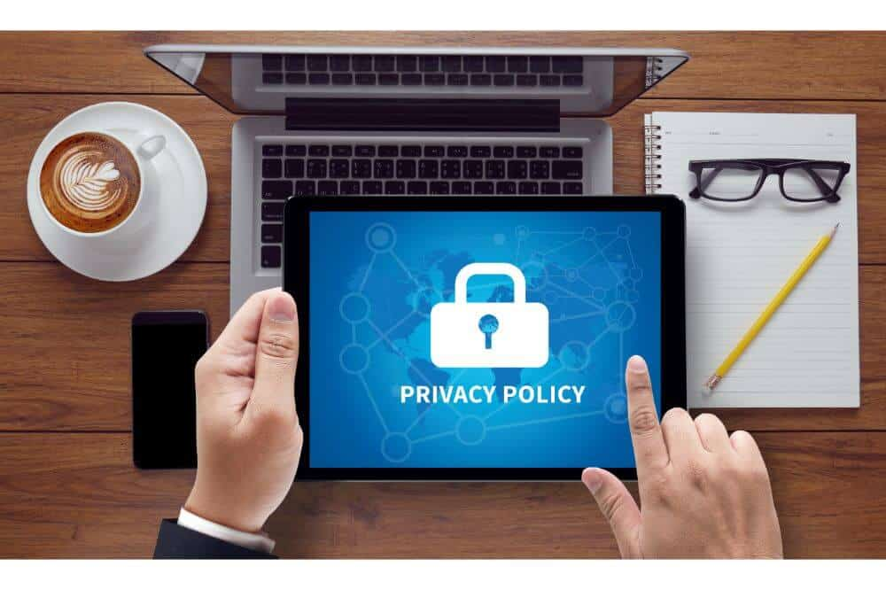Privacy Policy for a Website